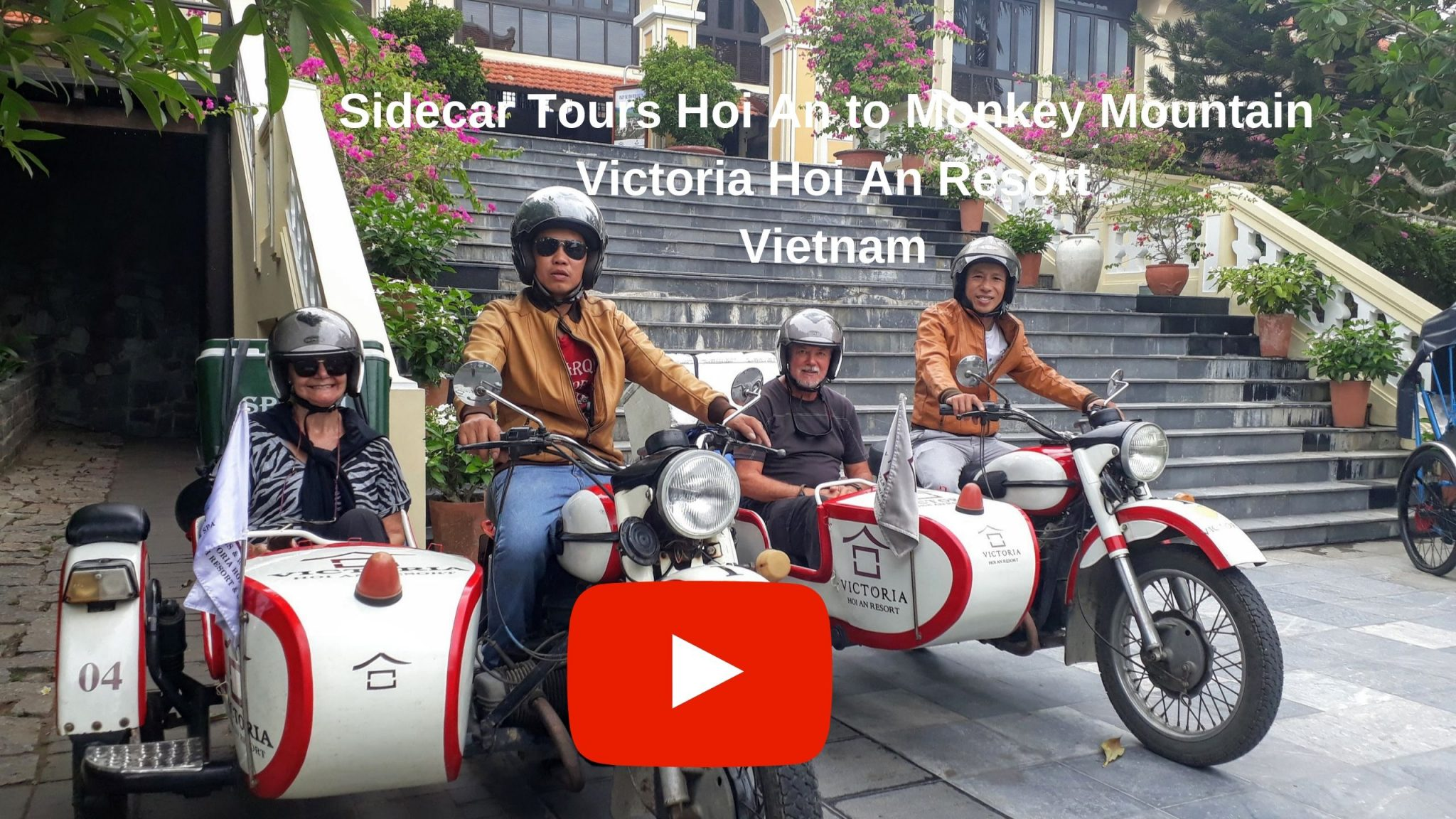 YouTube SideCar Tours Hoi An to Monkey Mountain Vietnam
