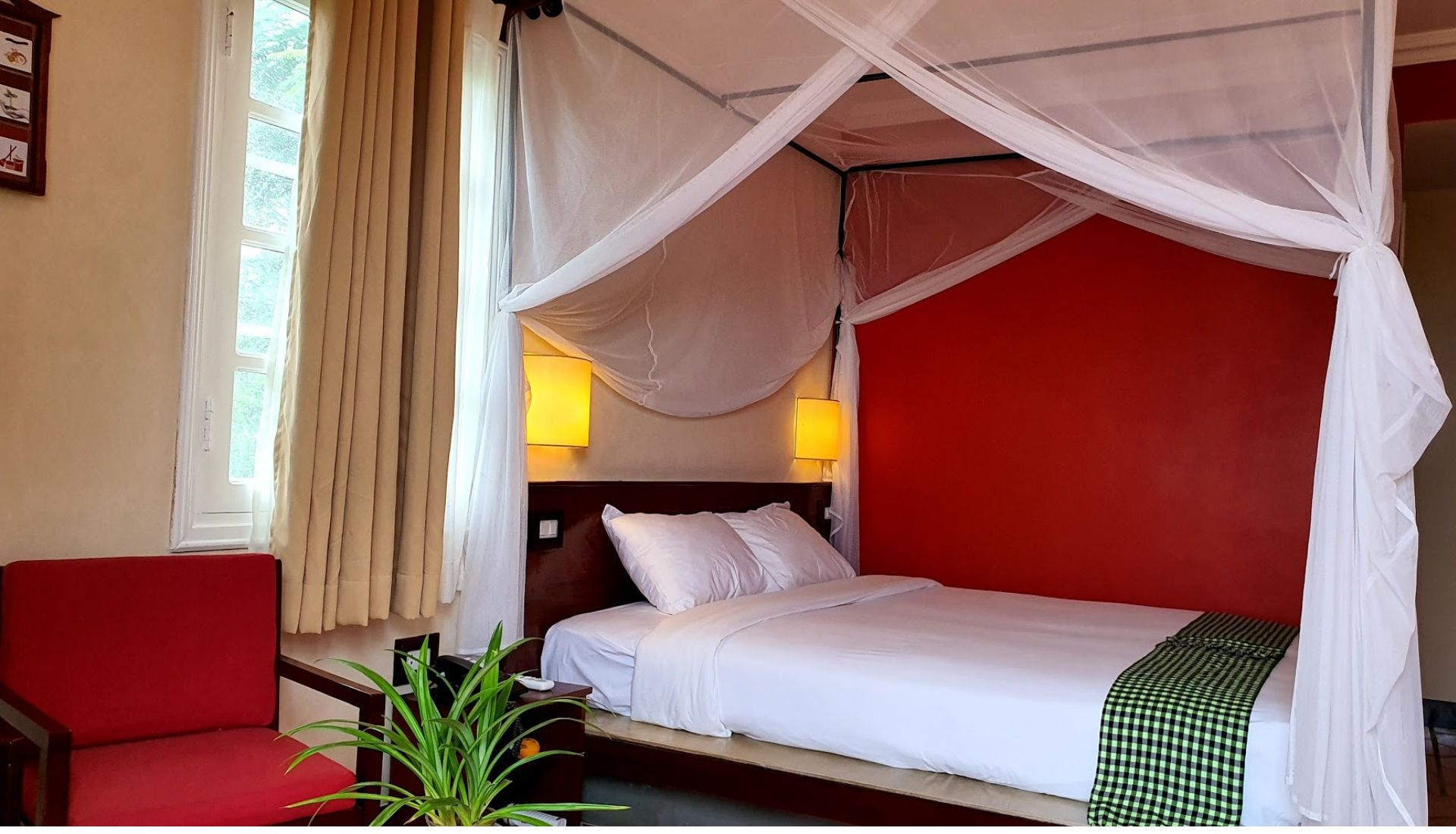 Accommodation at the Victoria Nui Sam Hotel
