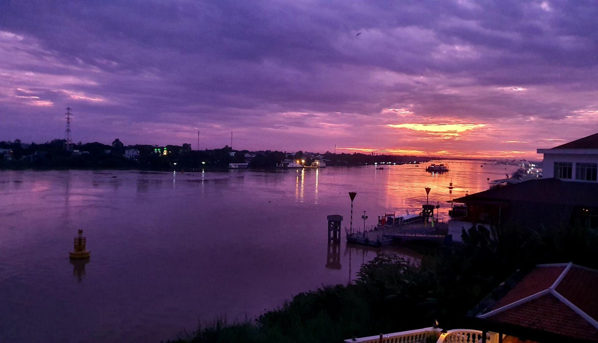 Sunrise at Chau Doc