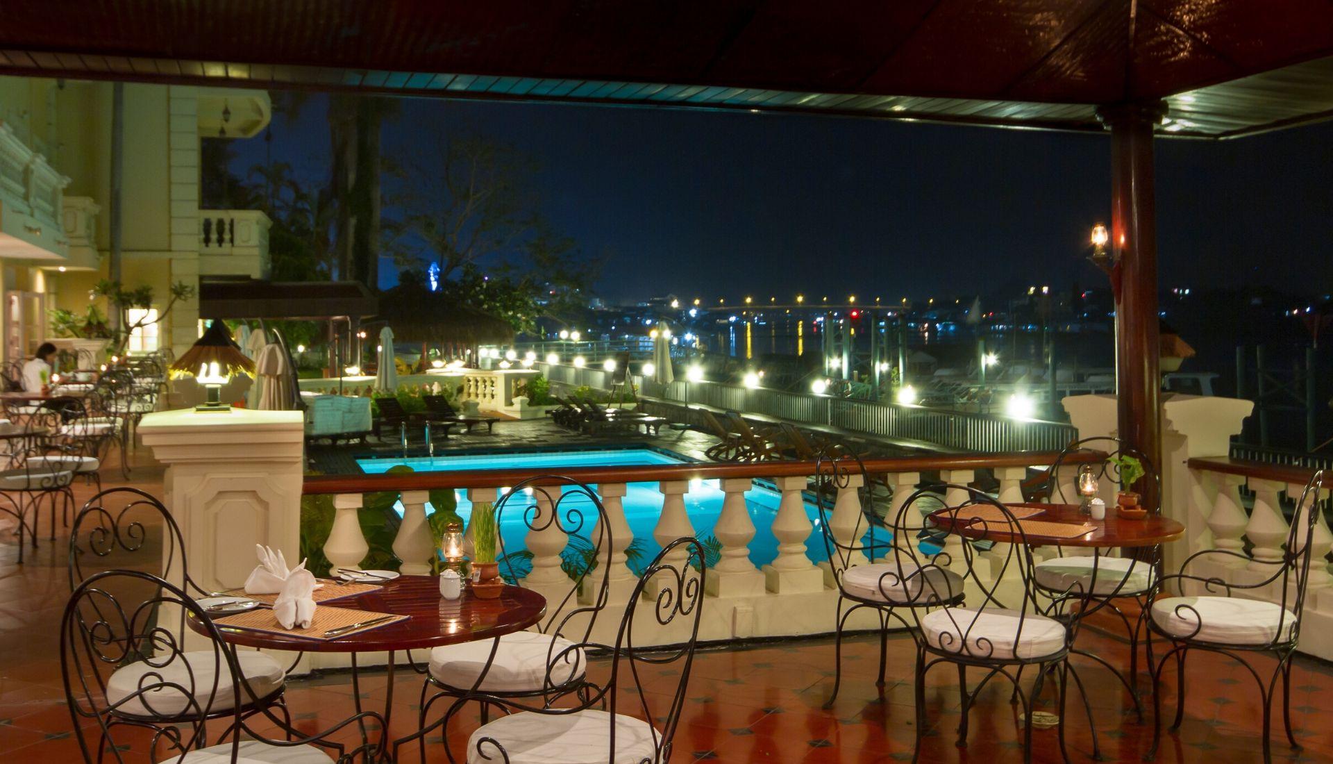 Swimming Pool at the Victoria Chau Doc Hotel