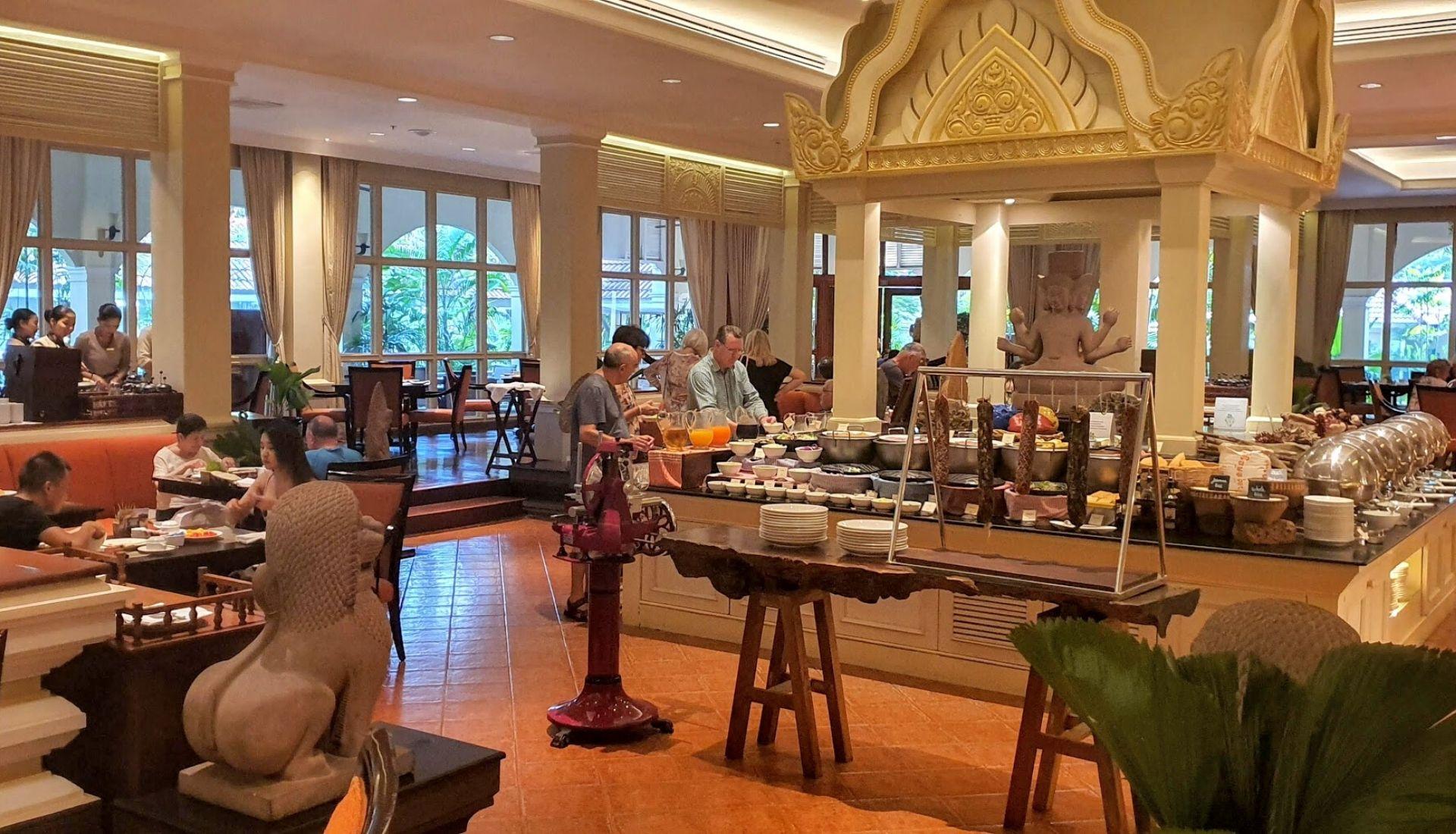 Breakfast at The Citadel Restaurant