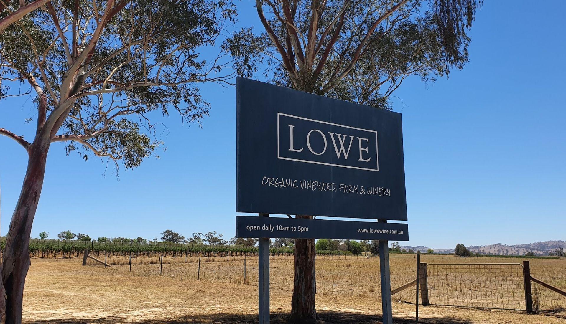 Lowe Wines Entrance