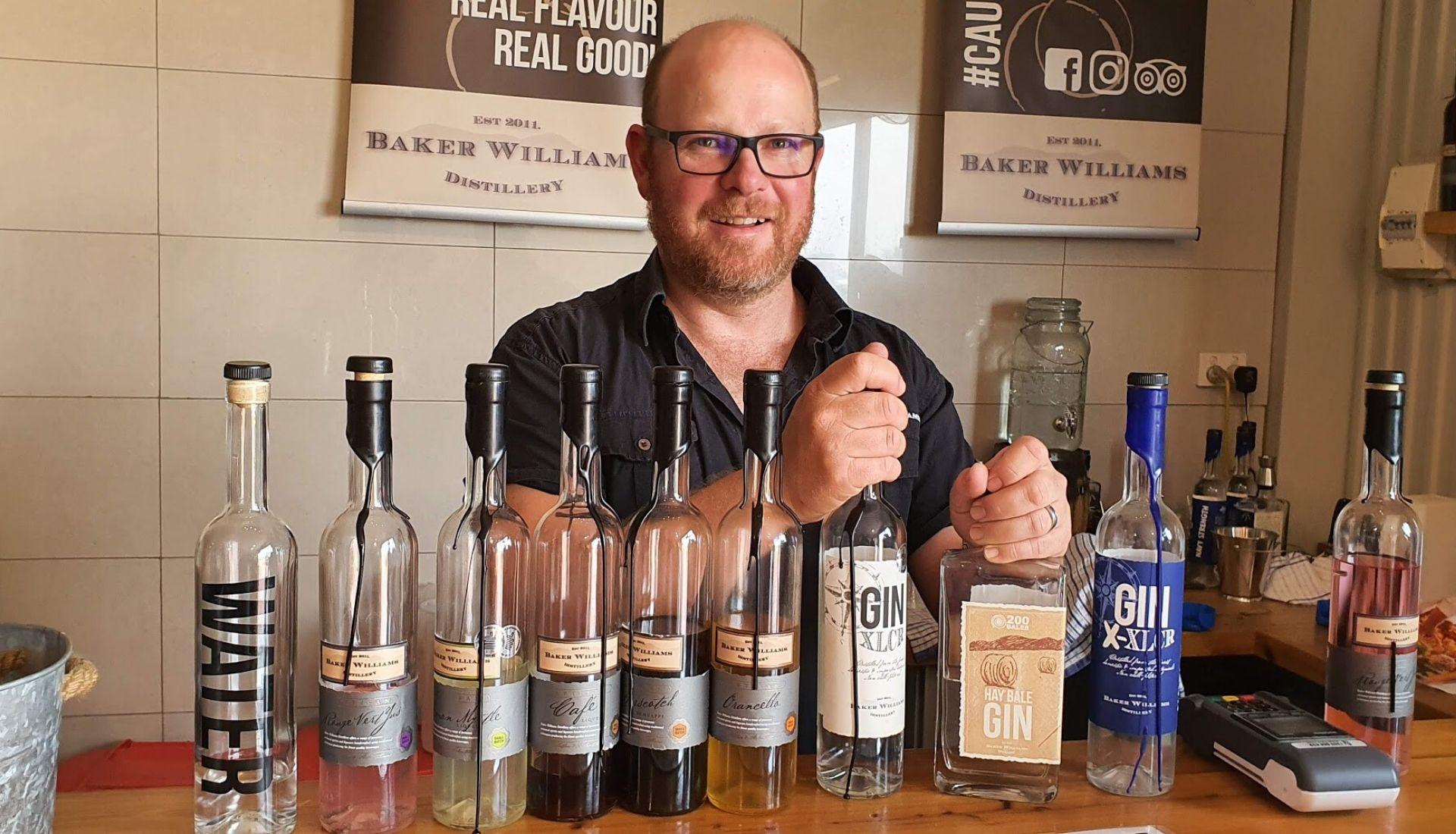 Nathan at Baker Williams Distillery