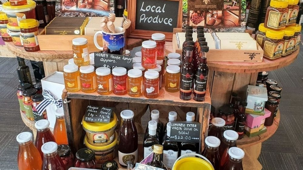 Visit the Mudgee Information Centre and buy local produce