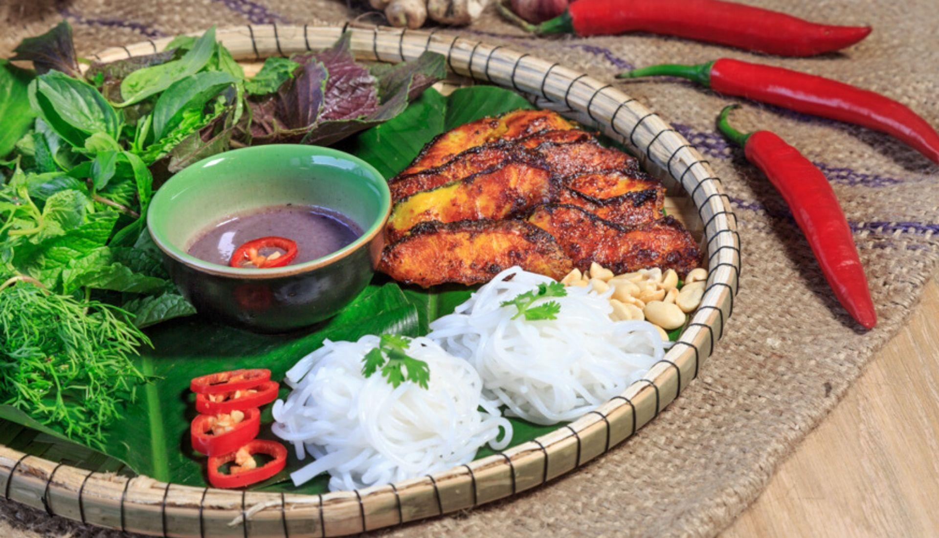 Local cuisine at Spice Viet