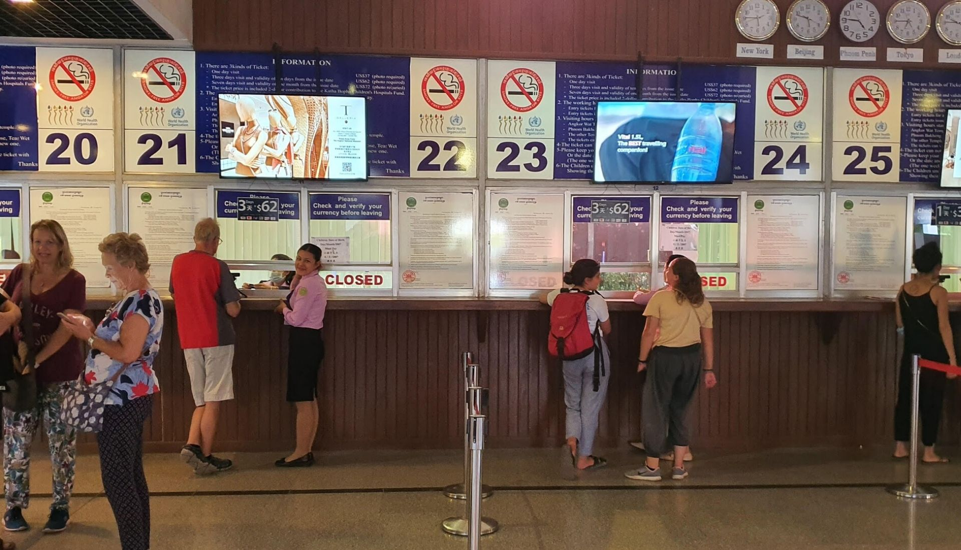 Ticket Counter for Angkor Wat