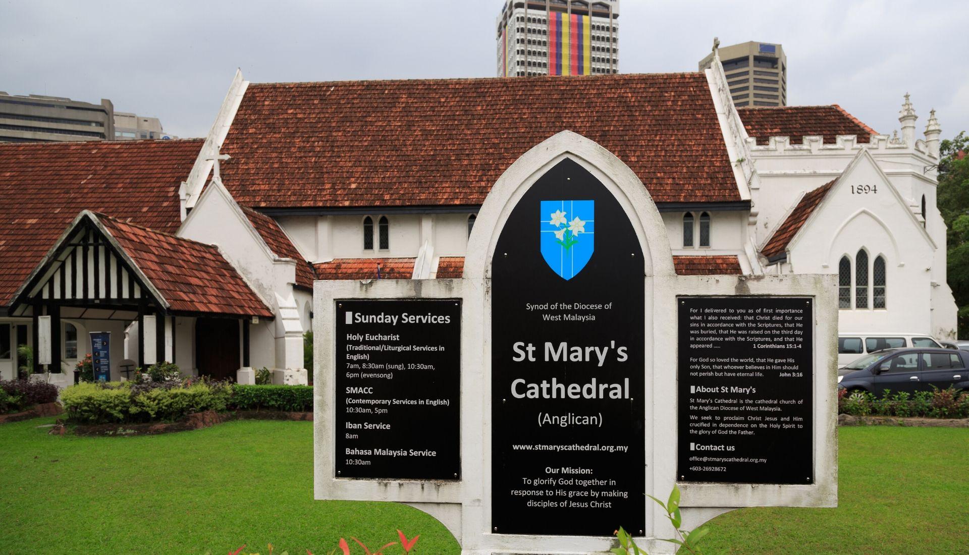 St Marys Cathedral Kuala Lumpur