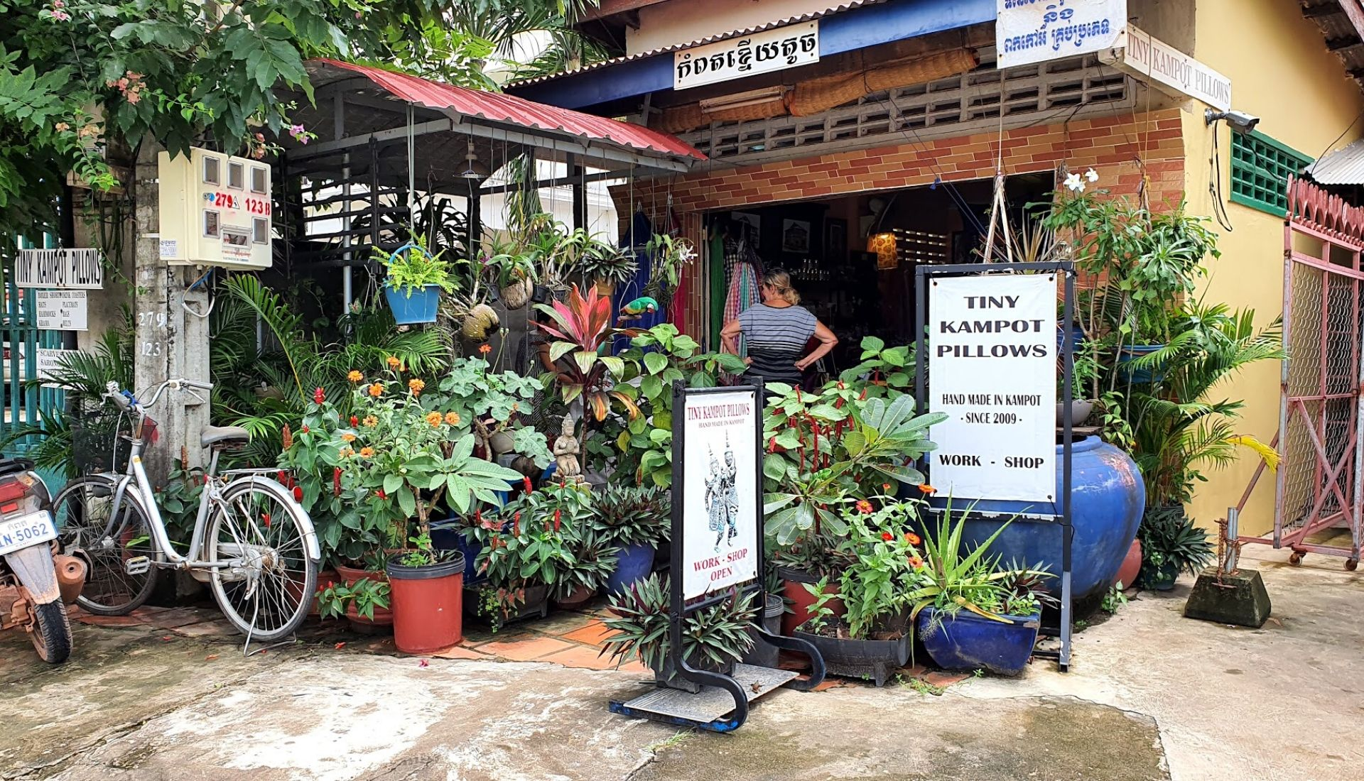 Shop for local handicrafts at Tiny Pillow