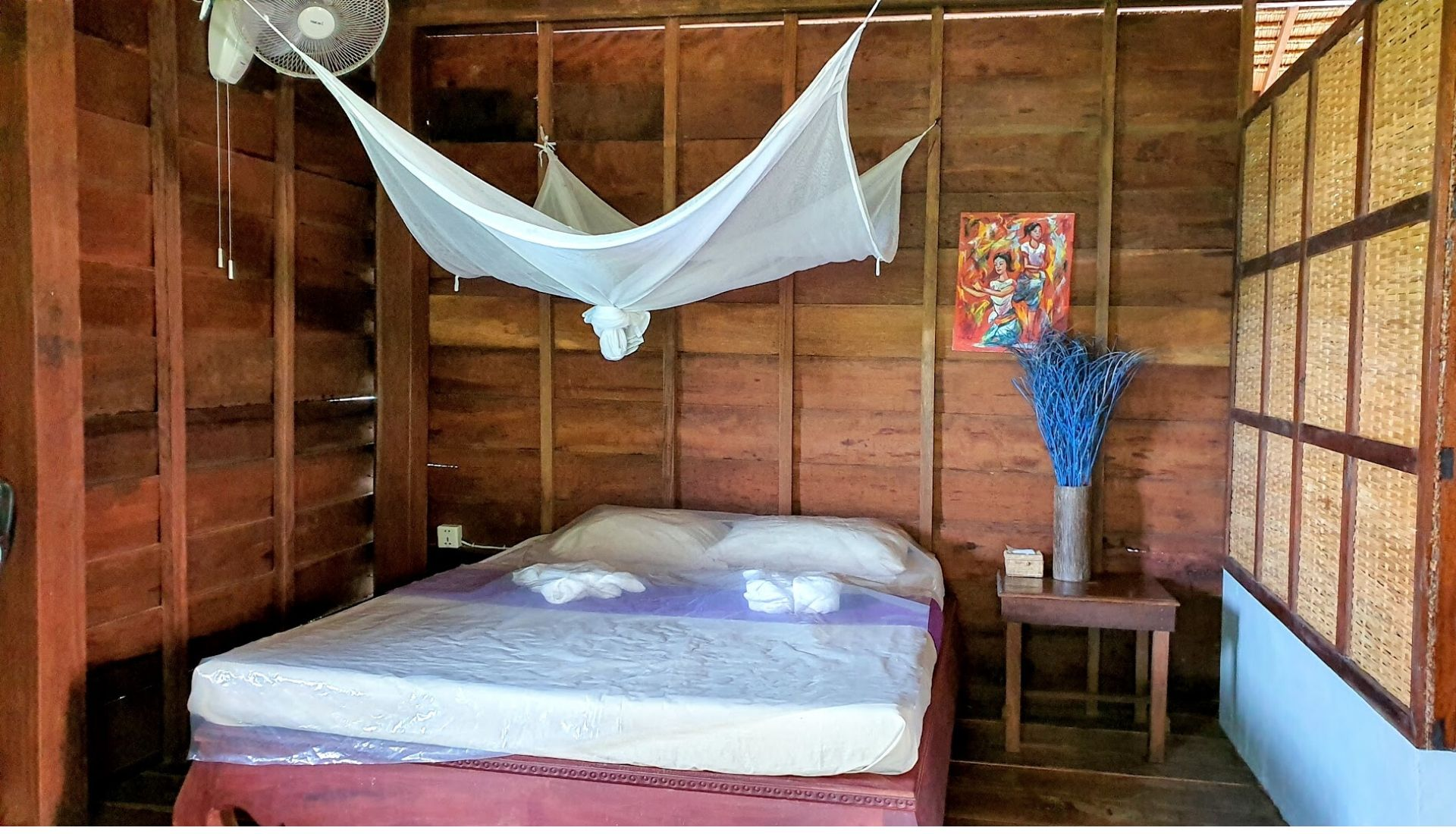 Double room at Khmer Hands