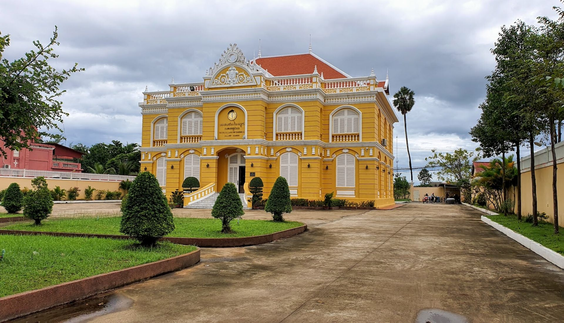 French Colonial Architecture in Kampot
