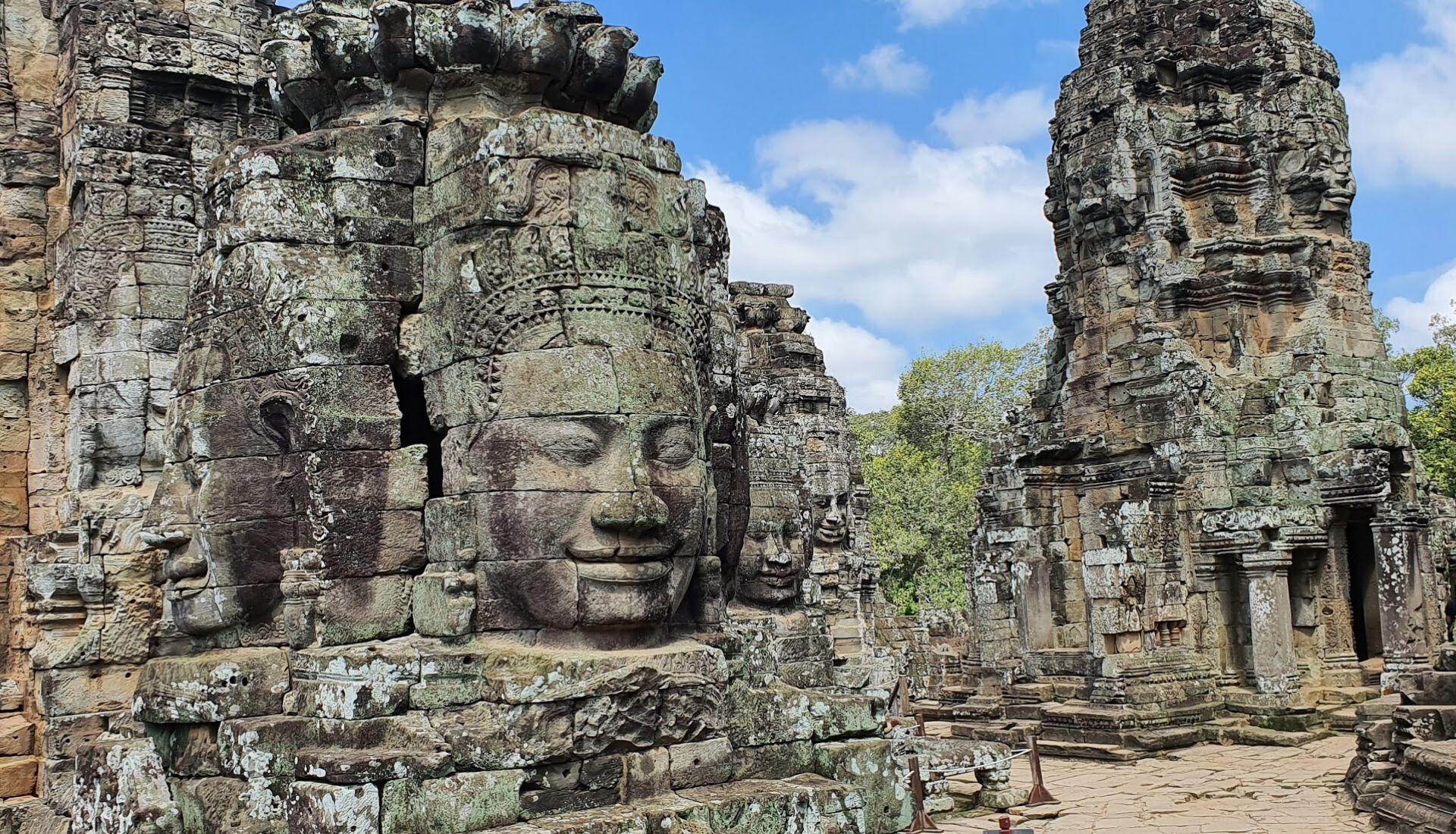 late 12th century Bayon Temple
