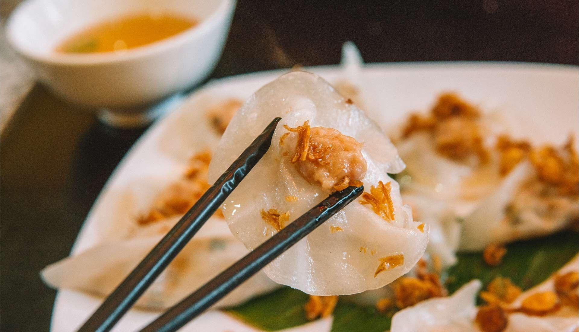 White Rose Dumplings