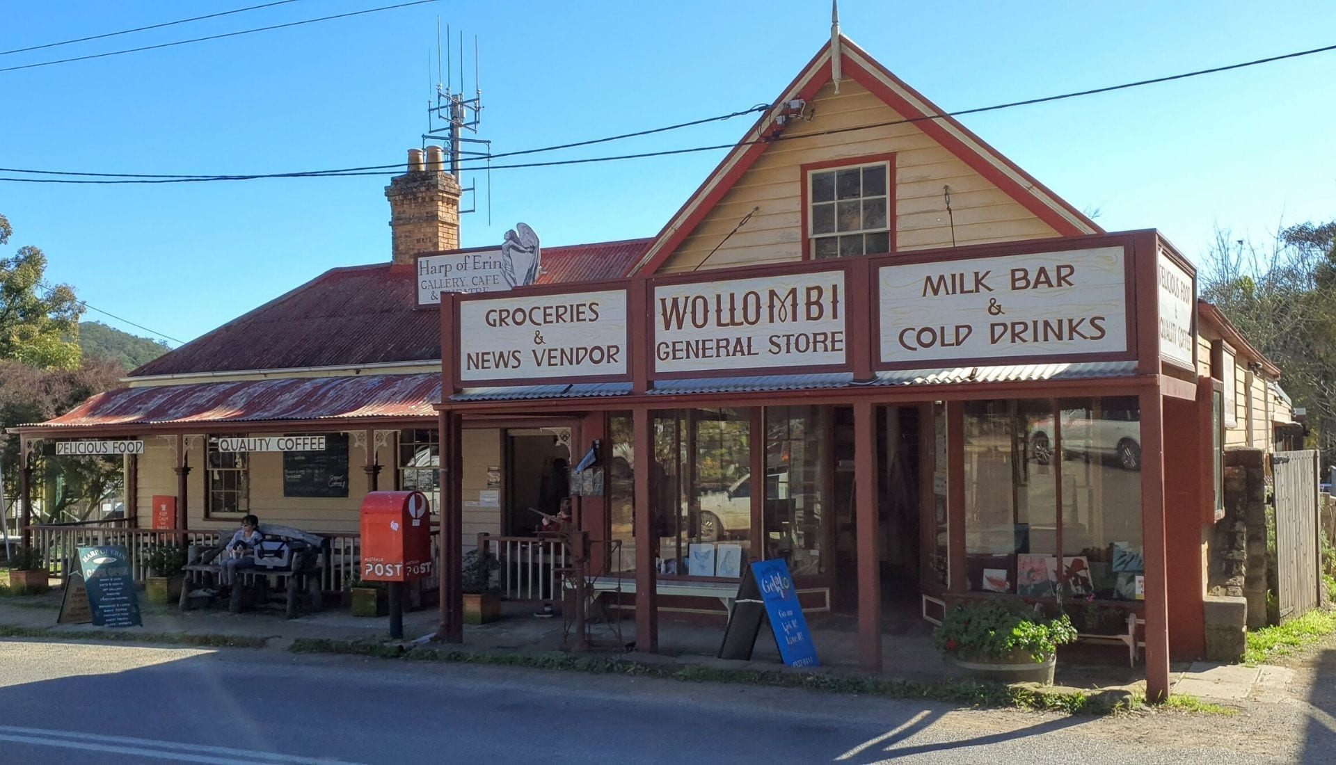 The country town of Wollombi