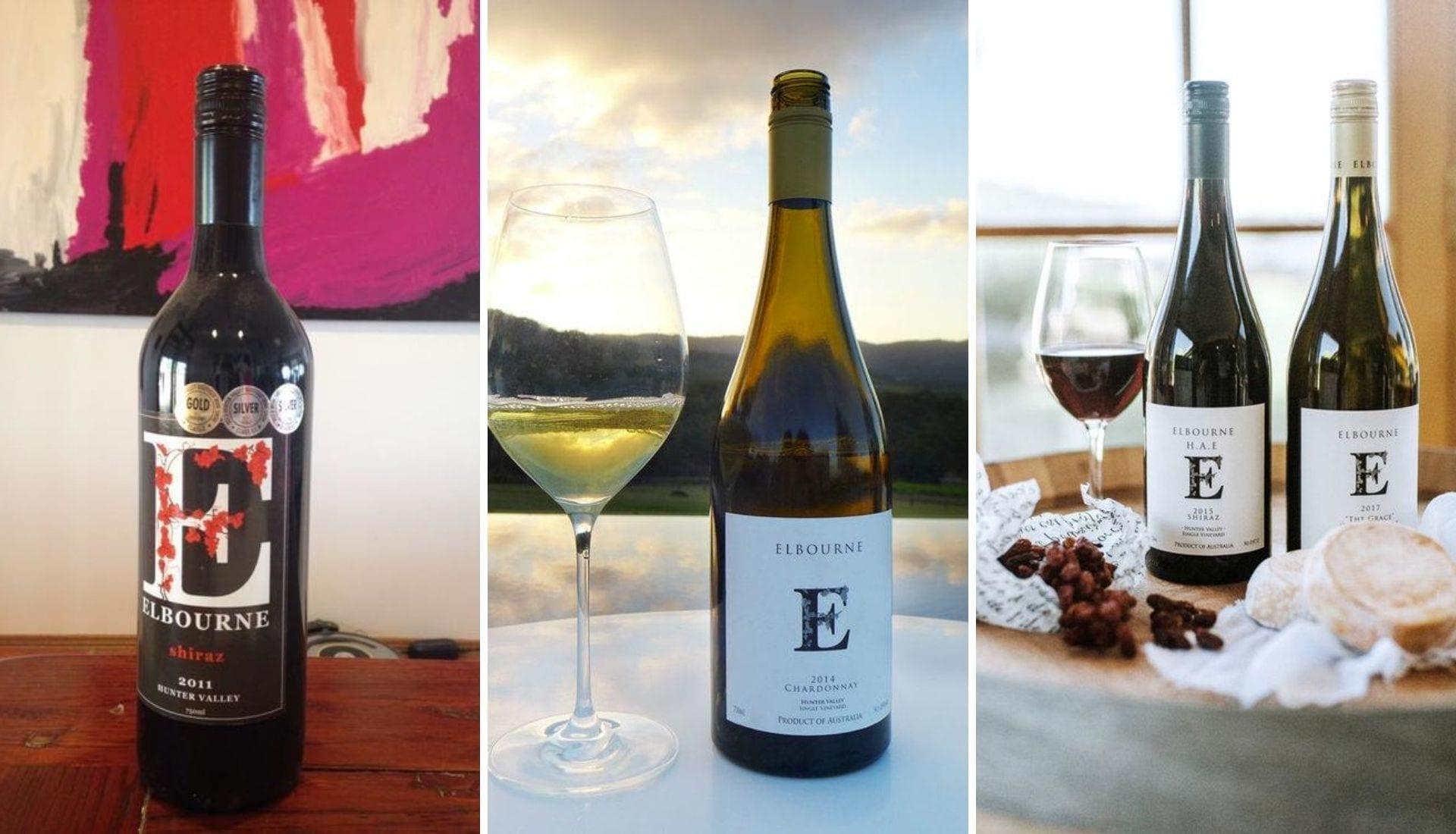 Trio of Elbourne Wines