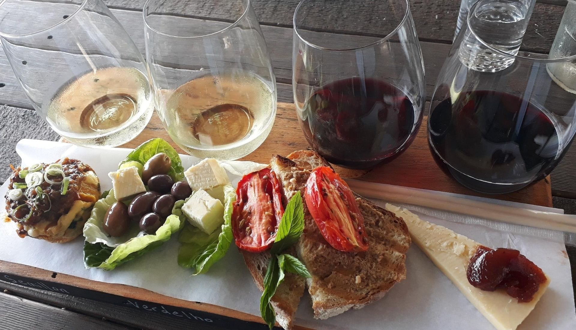 Grazing Board and Wine Paddle