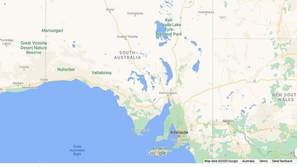 South Australia Map