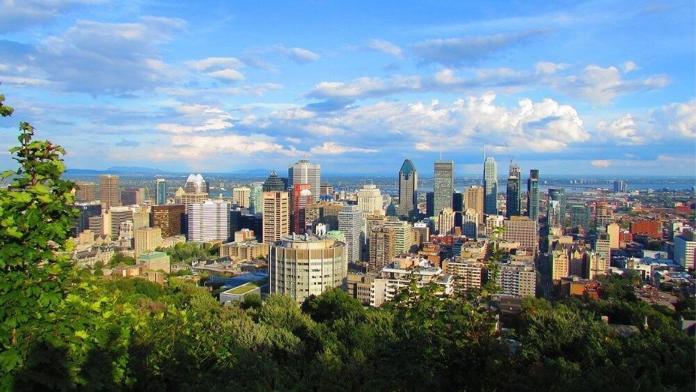 Montreal City Skyline - Image by Vernon Sullivan Pixabay