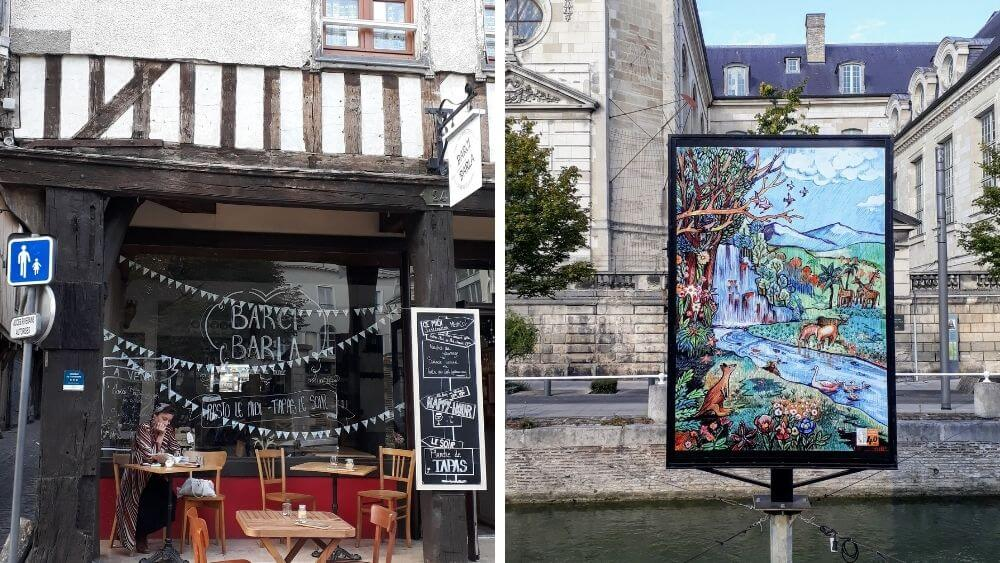Dine at Barci Barla Restaurant and visit Le Coeur de Troyes
