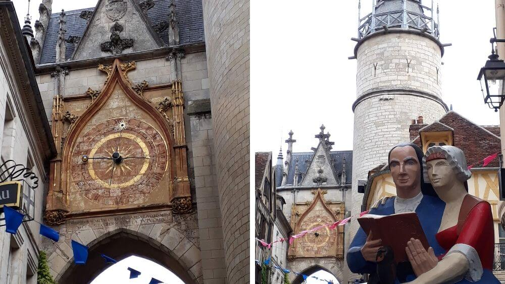 15th Century Clock Tower that measures solar and lunar movements