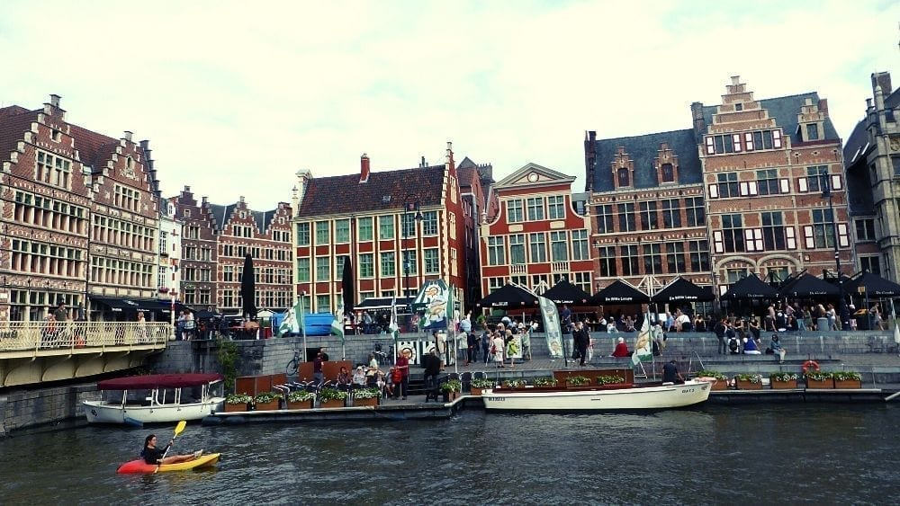 Wander the canals of Ghent