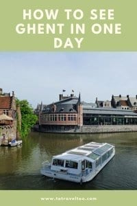 Pinterest photo of Ghent