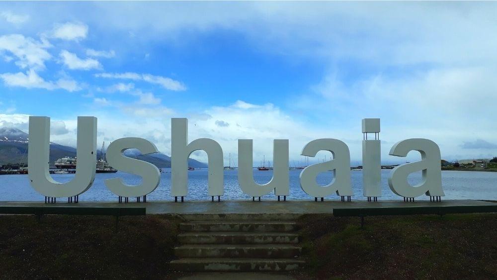Ushuaia Sign