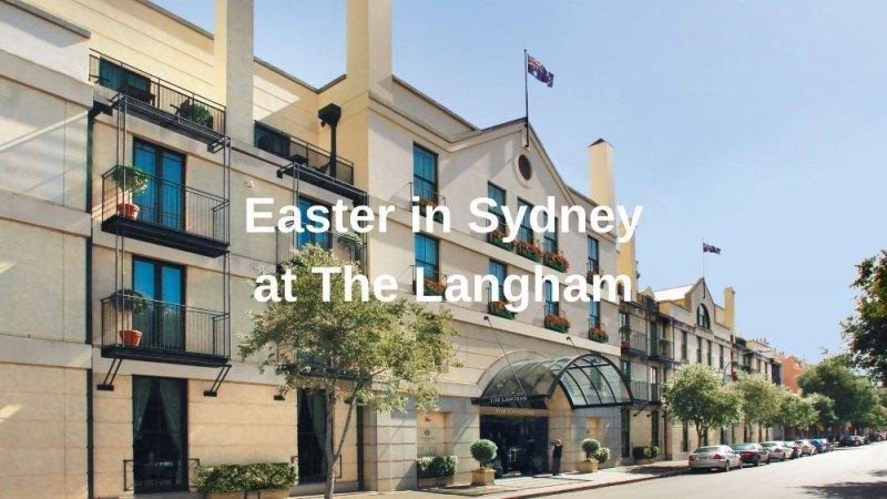 The Langham Hotel in Sydney