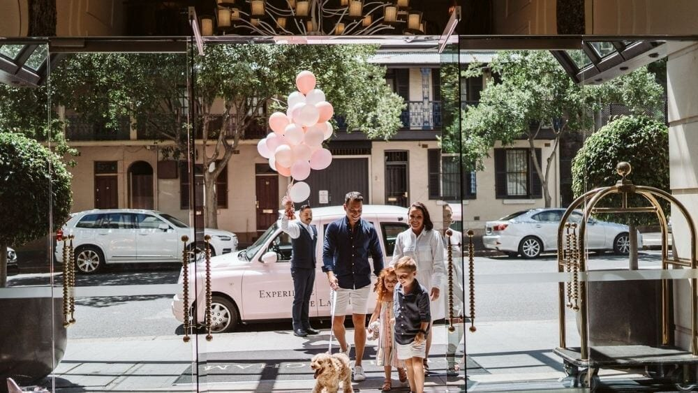 Playcation Package at the Langham Hotel in Sydney