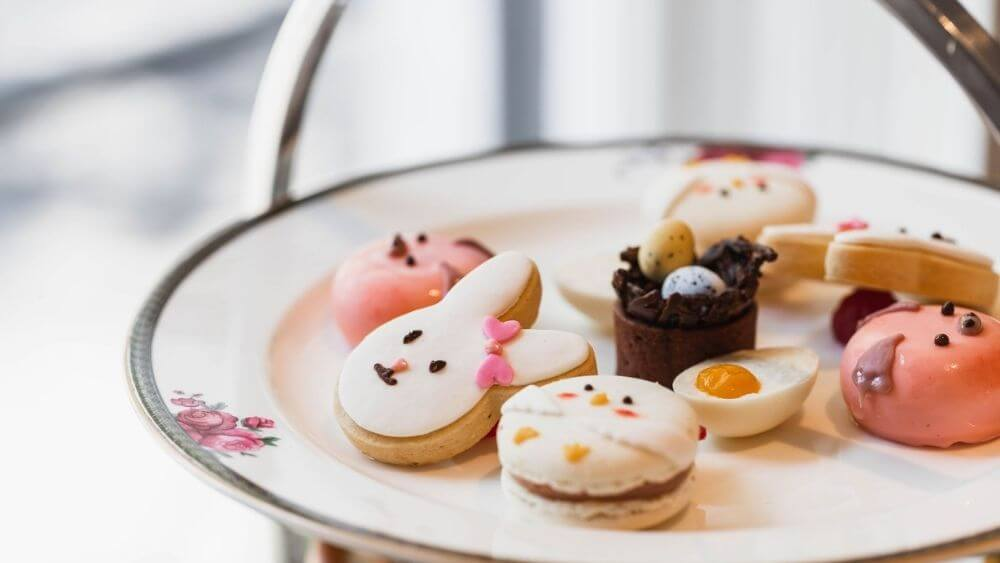 Easter Afternoon Tea at the Langham Hotel Sydney
