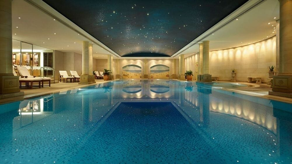 Swimming Pool at the Langham Hotel in Sydney