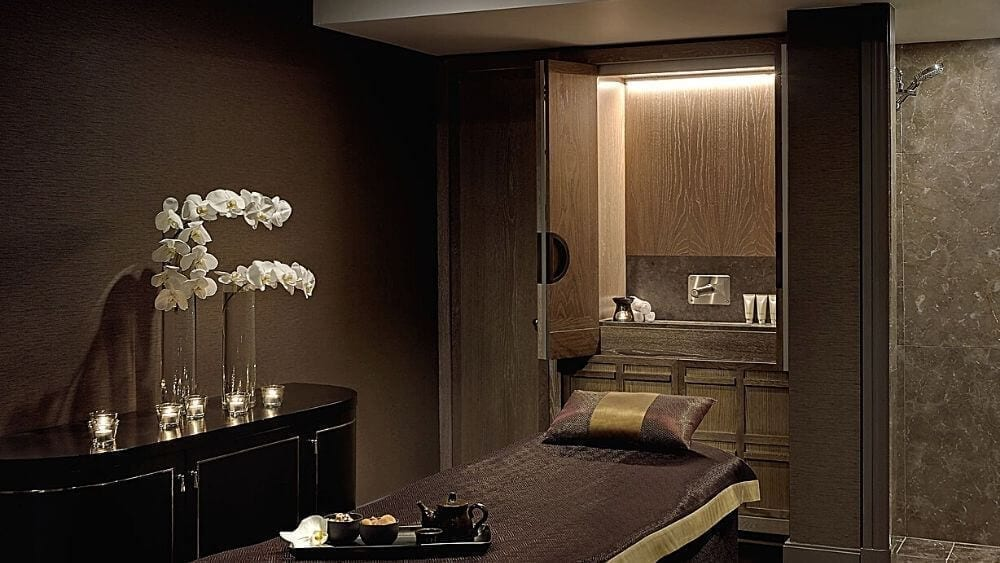 Spa Treatment Room at the Langham Hotel in Sydney