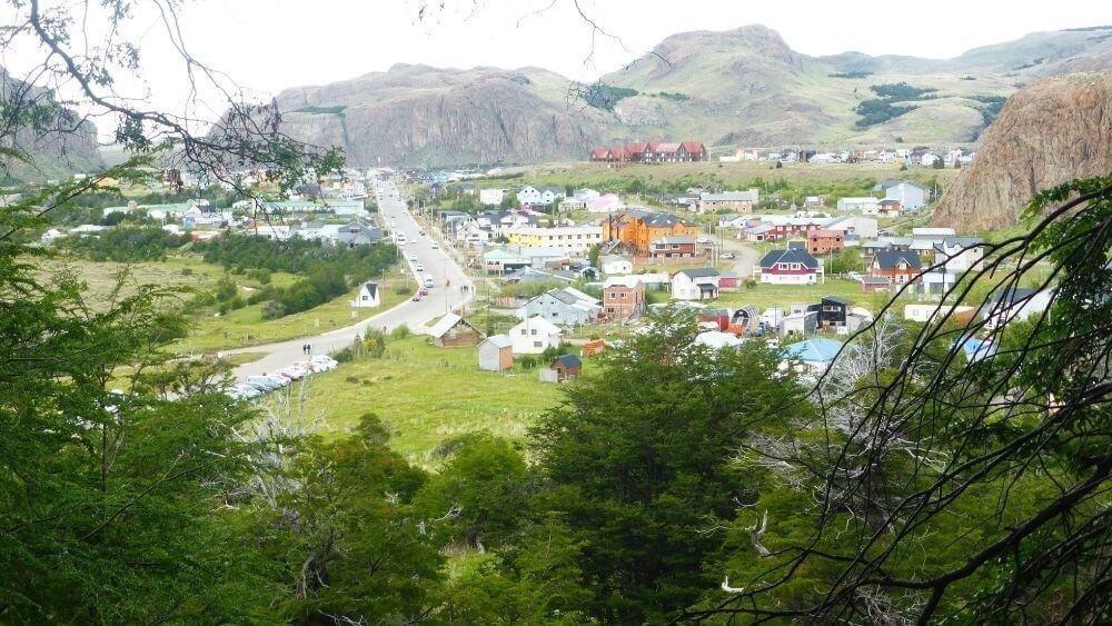 The town of El Chalten