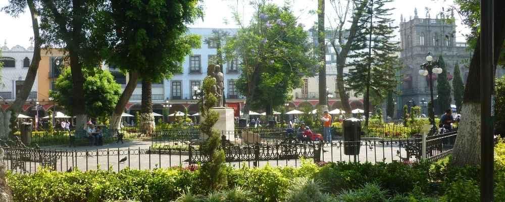Zocalo in Puebla