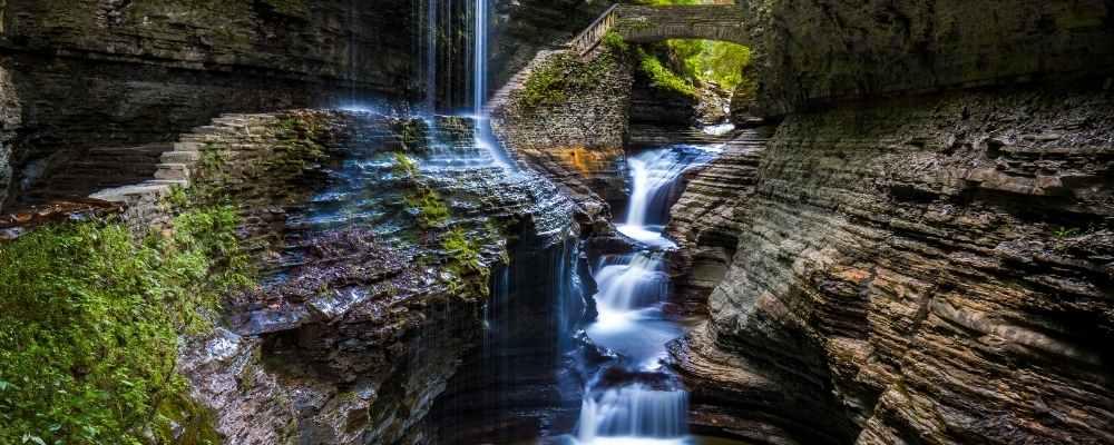 Waterfalls at Finger Lakes